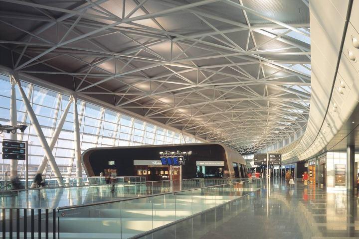 Aeropuerto Zurich Foto: Grimshaw