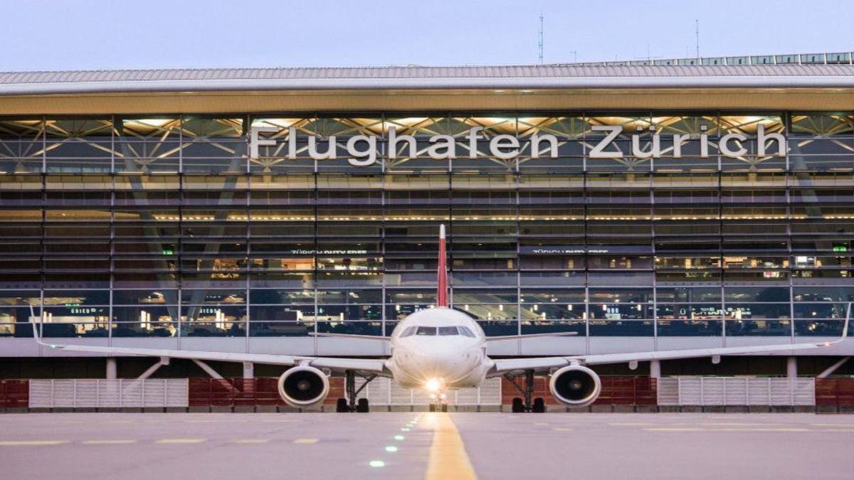 Aeropuerto Zurich Foto: Aeroaffaires