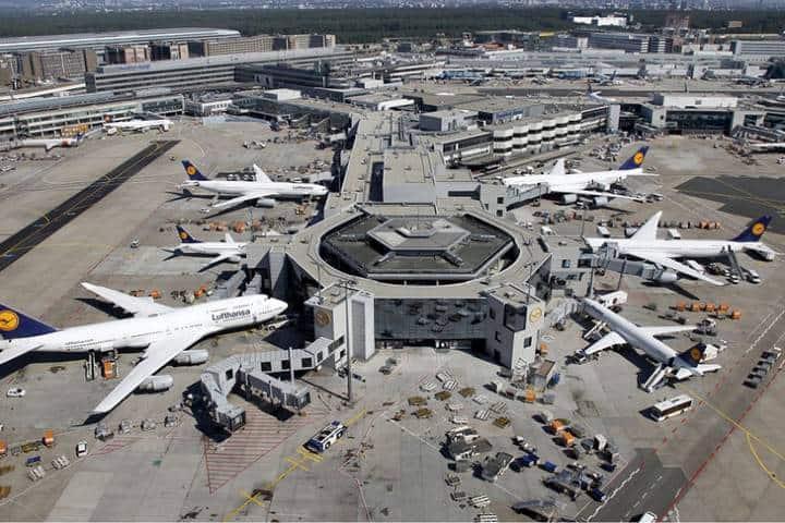 Aeropuerto de Francfort Foto: aircorgoneus