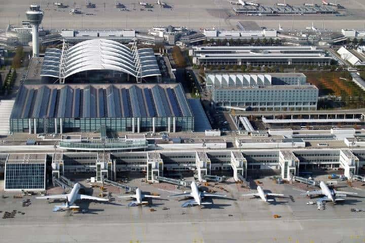 Aeropuerto de Munich Foto: Aeropuertos