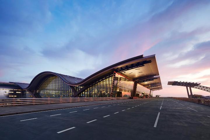 Aeropuerto Hamad en Qatar. Foto: Hamad International Airport