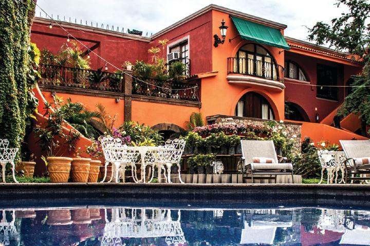 Alberca Foto: Casa Bella Hotel