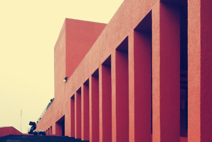 Arquitectura CENART - Foto Luis Juárez J.