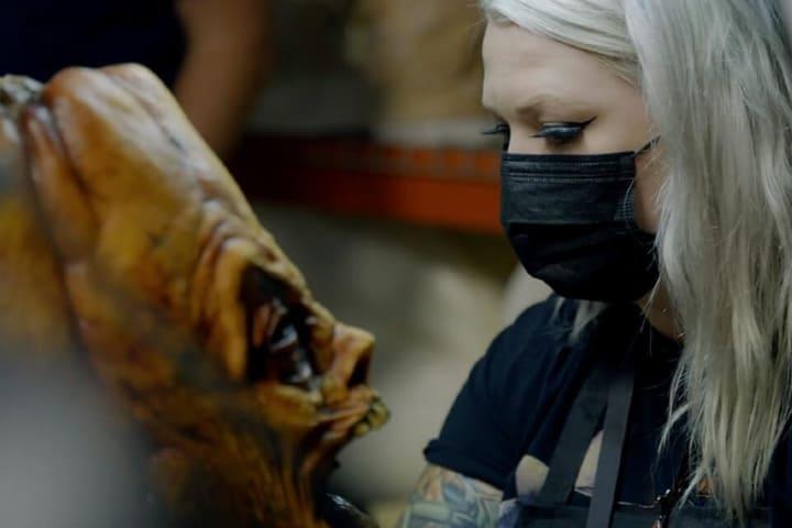 Así se trabaja con las máscaras de Puppet Theater: Captive Audience la nueva atracción de Universal Studios. Foto: Archivo