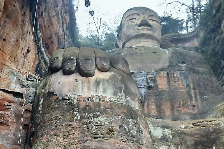 Aún con el paso de los años, el Leshan Giant Buddha se continua viendo impresionante. Foto: magdaseguel.yoga