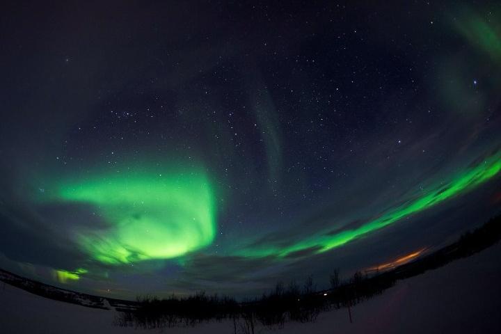 Aurora boreal. Foto: Publimetro Chile | Facebook