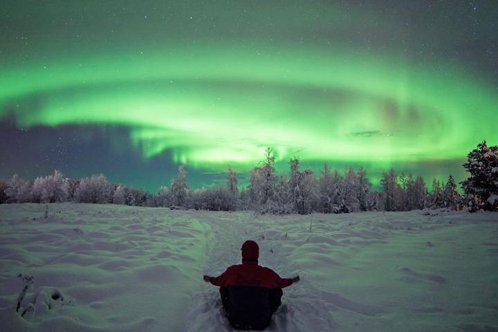 Aurora boreal. Foto: HOLA!