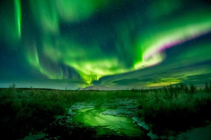 Aurora boreal. Foto: Ronald Fröjd
