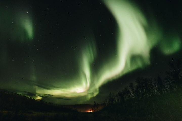 Conoce las leyendas que la cultura Sami tiene sobre las auroras boreales. Foto: Akira Hojo