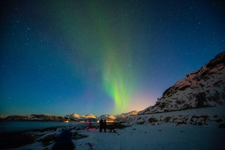 Auroras Boreales. Foto: Lightscape