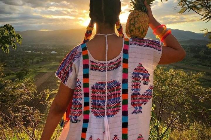 Un gran paisaje en Oaxaca Foto: balletflolKlorocodance | Instagram