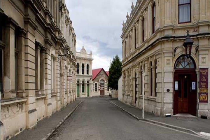 Barrio Victoriano en la Ciudad de Oamaru Foto_ growproexperience