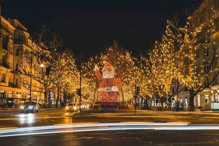 Berlin Ku´damm en Navidad. Foto: spiegelbild.moments