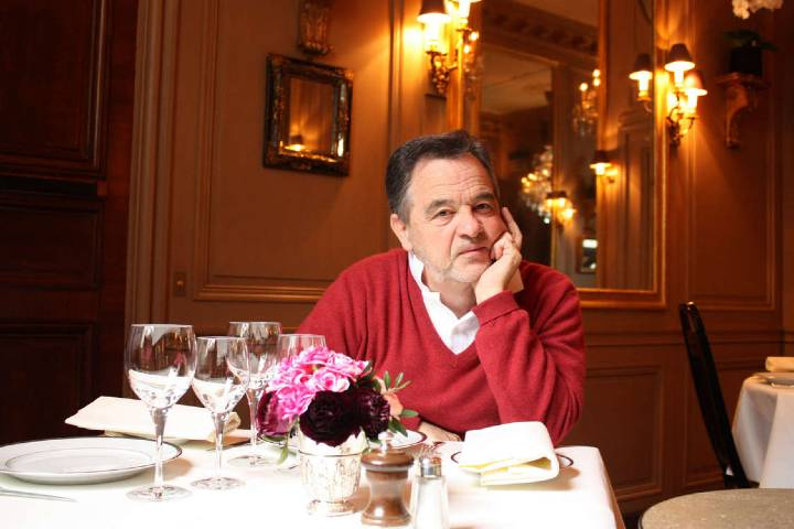 Bernard en Restaurante L'Ambrois Foto: Gourmets and Co