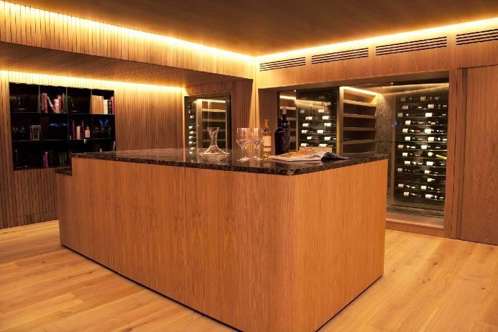 Bodega de vinos. Foto: Archivo