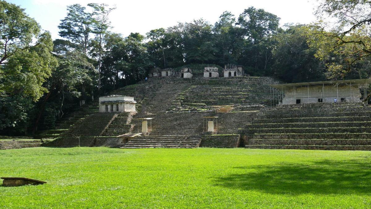 Bonampak Chiapas Foto Bernard Dupont