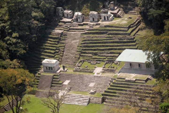 La gran ciudad de Bonampak Foto: viaja por México