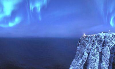 Cabo Norte, Noruega, auroras boreales. Foto: Visit Normay