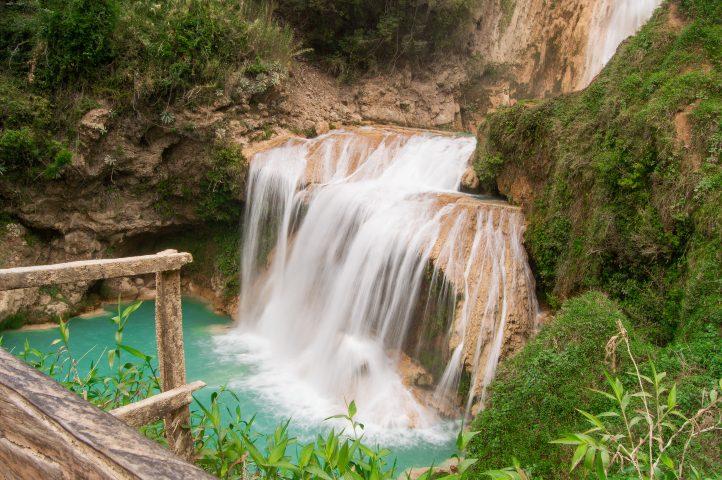Cascada El Chiflón Chiapas Mexico. Foto Crisoforo Gaspar Hernandez