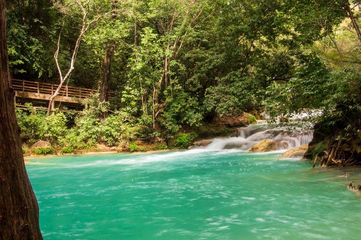 Cascada El Chiflón, Chiapas Mexico. Foto: Crisoforo Gaspar Hernandez