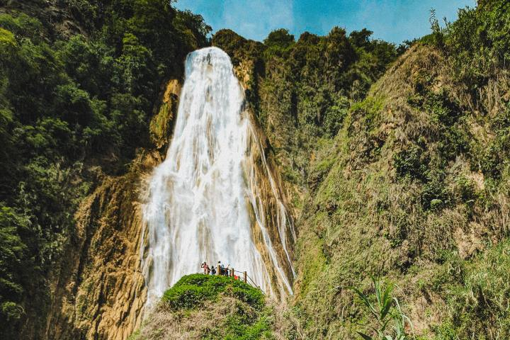 La belleza de las cascadas El Chiflón, ¡Te enamorarán! Foto: Naary Ignot
