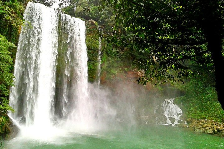Cascada de Misol-ha, Chiapas. Foto: Israel Ortiz