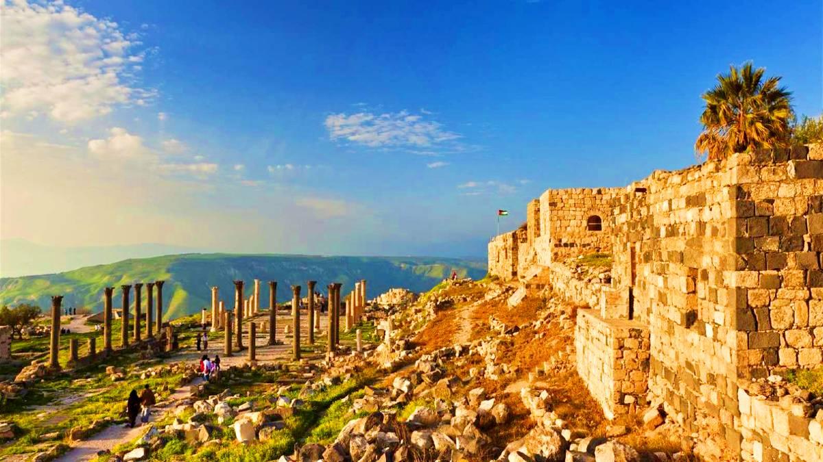 Castillo de Ailoun y Umm Qais. Foto: GetYourGuide
