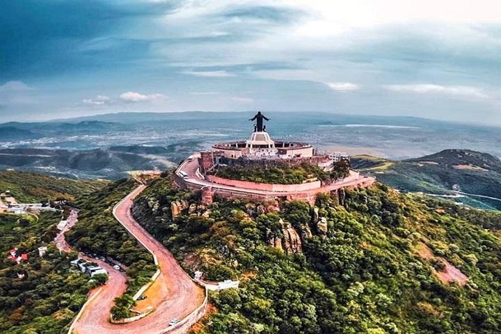 El Cerro el Cubilete le dio un toque especial a nuestro viaje a Guanajuato. Foto: La Verdad de Tamaulipas