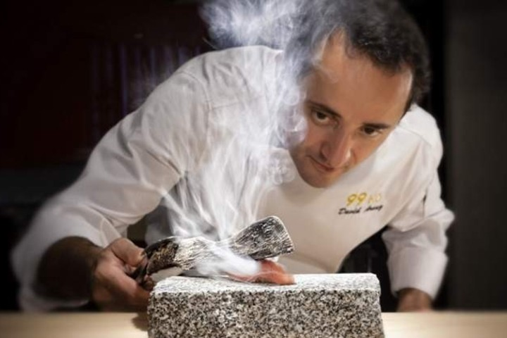 Chef David Arauz Foto: El Economista