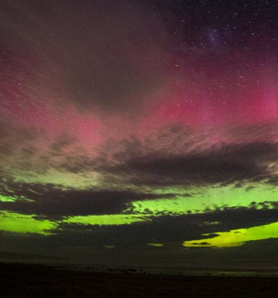 Cielo Auroras boreales Foto: Rebecca Wilson Jennings