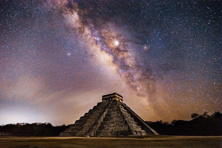 Las estrellas servían de guía en Chichén Itzá para verificar hacia dónde se estaba construyendo. Foto: Alef