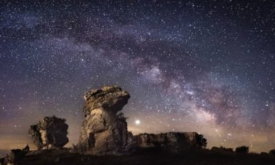 Admira el cielo estrellado de La Palma. Foto: Official Stoppers