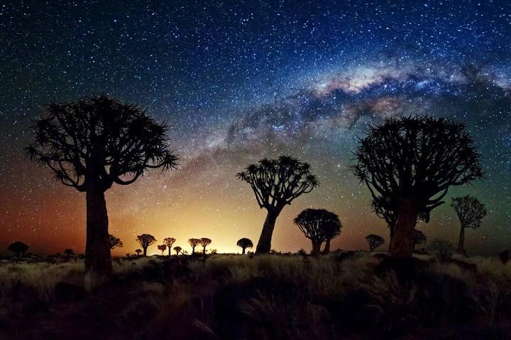 Una increíble vista de luz natural Foto: Turismo de Estrellas