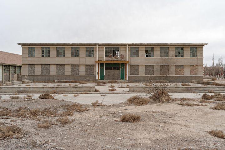 Ciudad abandonada 404 de China. Foto Infobae