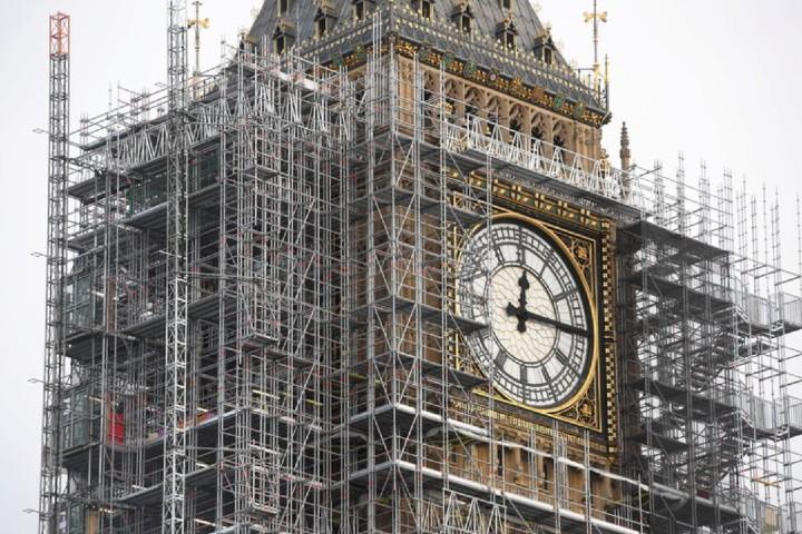 La construcción de esta enorme torre Foto: Infobae