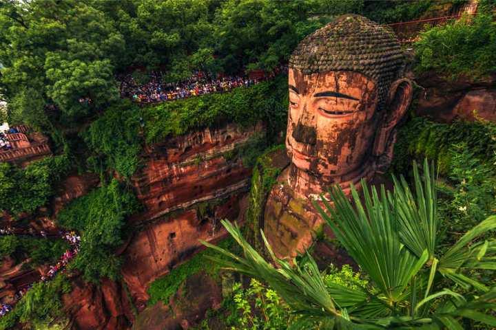 Datos curiosos del Budha gigante de Leshan. fOTO Viajeros de Tailandia