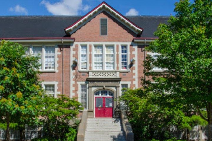 David Lloyd George Elementary; una de las locaciones de Sabrina, la serie de Netflix. Foto: Archivo