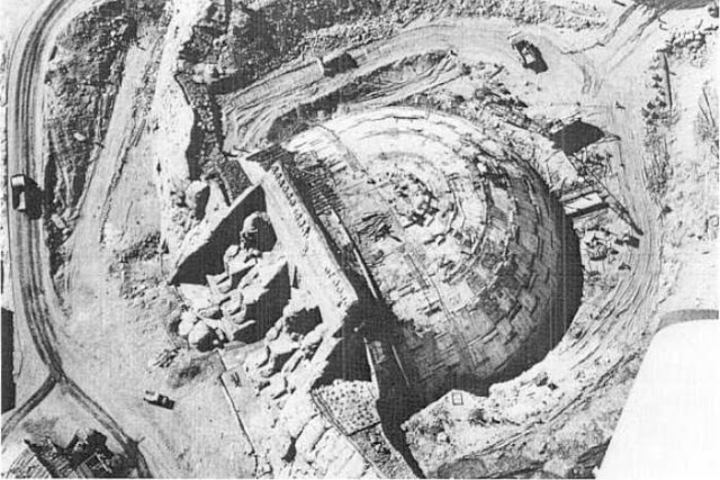 Desmantelamiento del Templo Foto: iAgua