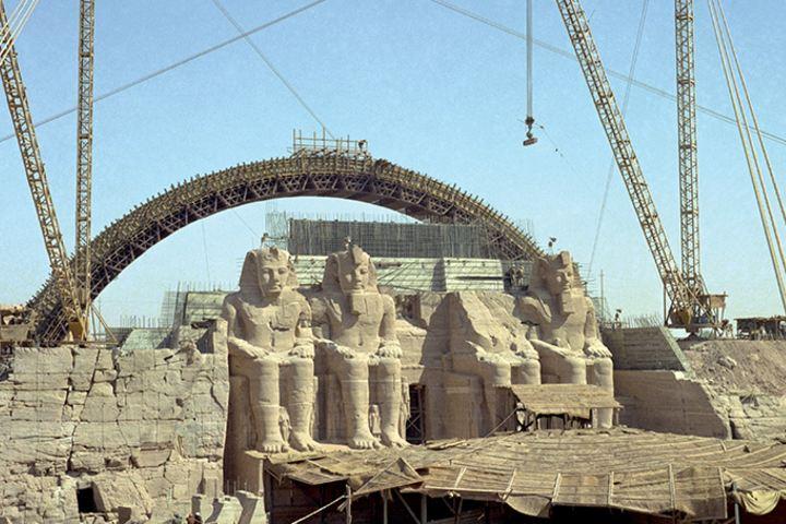 Desplazamiento del Templo Foto: trevi spa