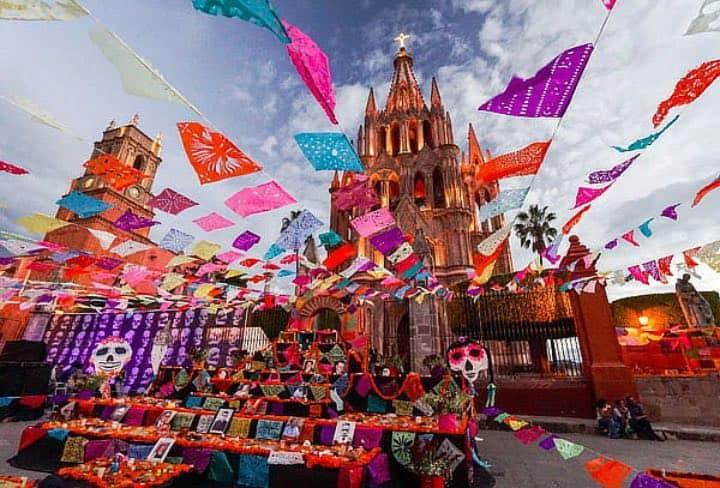 Día de Muertos en San Miguel de Allende. Foto: News San Miguel