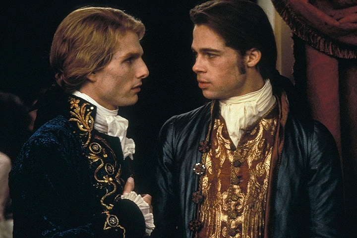 """Brad Pitt en """"Interview with The Vampire"""". Foto: Glamour"""