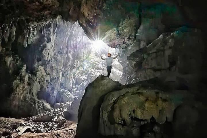 Disfruta del asombroso recorrido dentro de la cueva. Foto: javier_delangel_c
