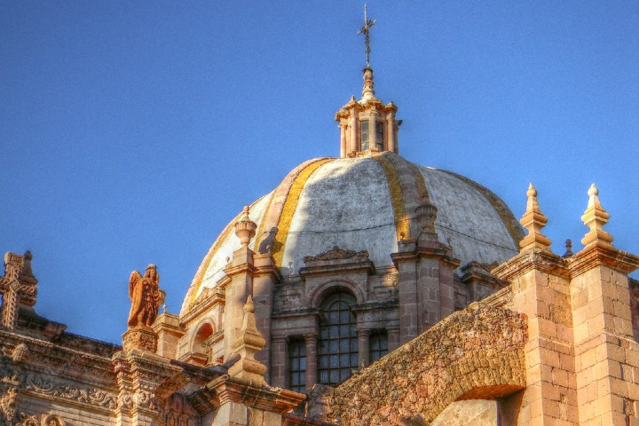 Cupula de la Catedral de Zacatecas Foto: Eduardo Rivera Arteaga | Flickr