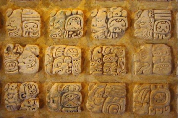 Estos son ejemplos de los grabados que se encuentran en el Templo. Foto: Ancient Origins