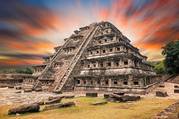 El Tajín, el monumento más famoso de Papantla. Foto: fotografiaprofesionalcancun