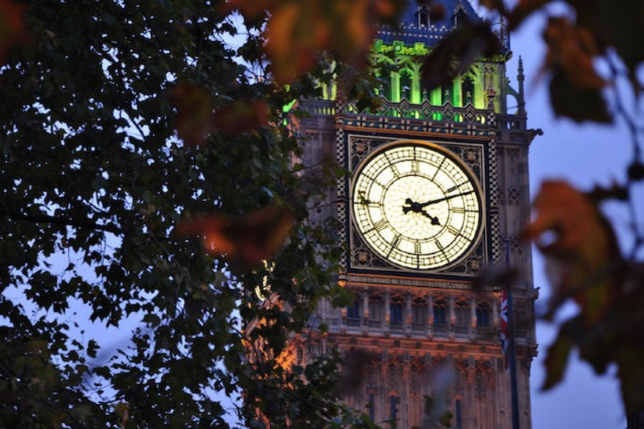 La luz verde del parlamento Foto: Anna Potyondi