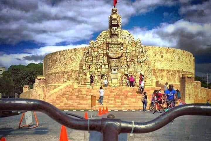 El monumento más importante para los meridanos. Foto: ozf_fotos