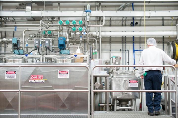 Proceso de fabricación de los deliciosos helados Foto: Ben & Jerry's