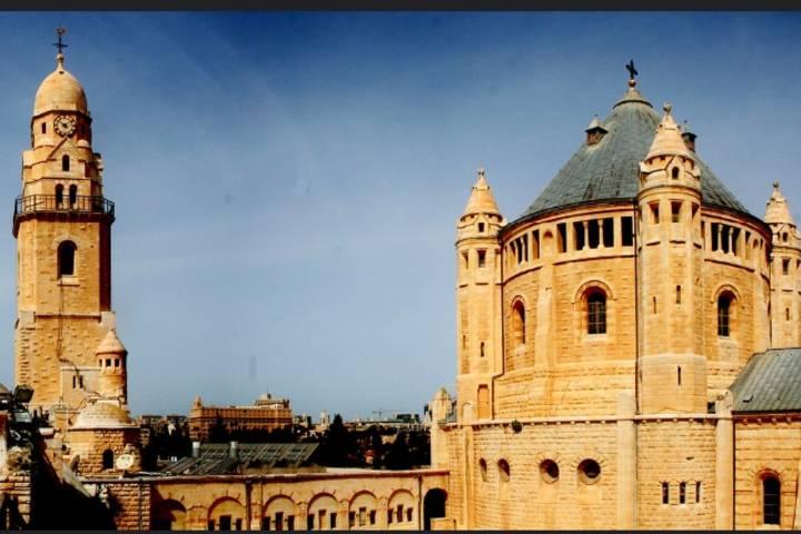 El sagrado Cenáculo en Jerusalén. Foto: Dennis Williams