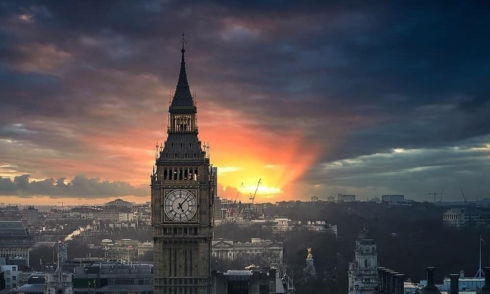 Un atardecer digno de admirarse Foto: Londonsgramm